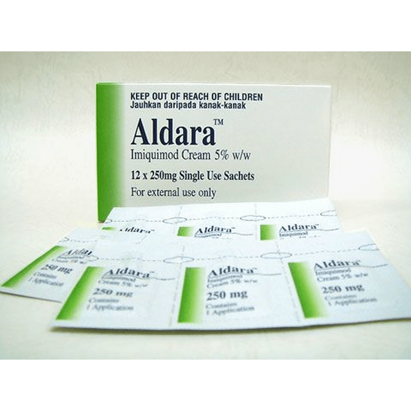 アルダラクリーム 5% 250mg 1 箱 / Aldara Cream 5% 250mg 1 box