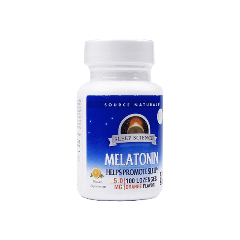 [ソースナチュラルズ] メラトニン 5mg [オレンジ] / [Souerce Naturals] Melatonin 5mg [Orange]