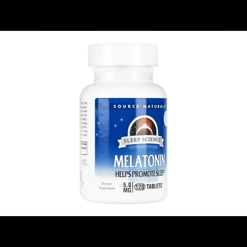 [ソースナチュラルズ] メラトニン 5mg / [Souerce Naturals] Melatonin 5mg