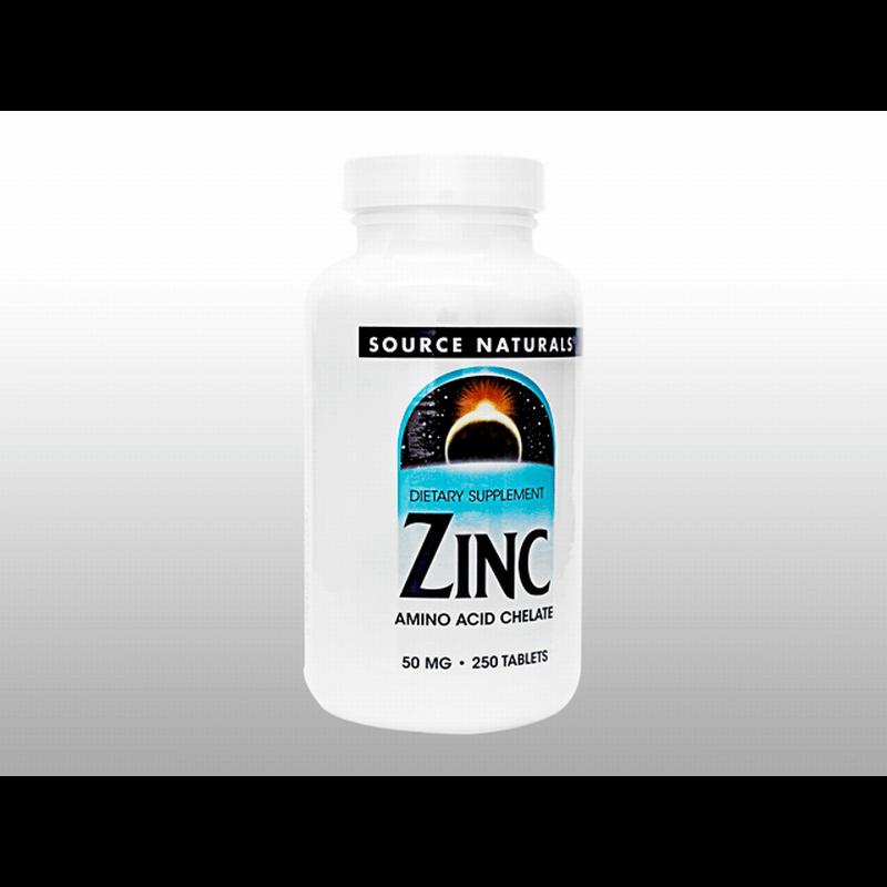 [ソースナチュラルズ] ジンク 50mg 1本 / [Souerce Naturals] ZINC 50mg 1 bottle