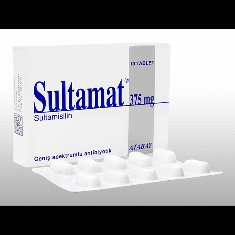 スルタマト 375mg 9箱 / Sultamat 375mg 9 boxes