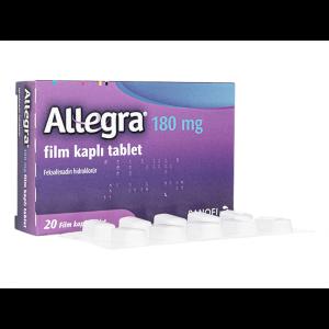 アレグラ 180mg 1箱 / Allegra 180mg 1 box