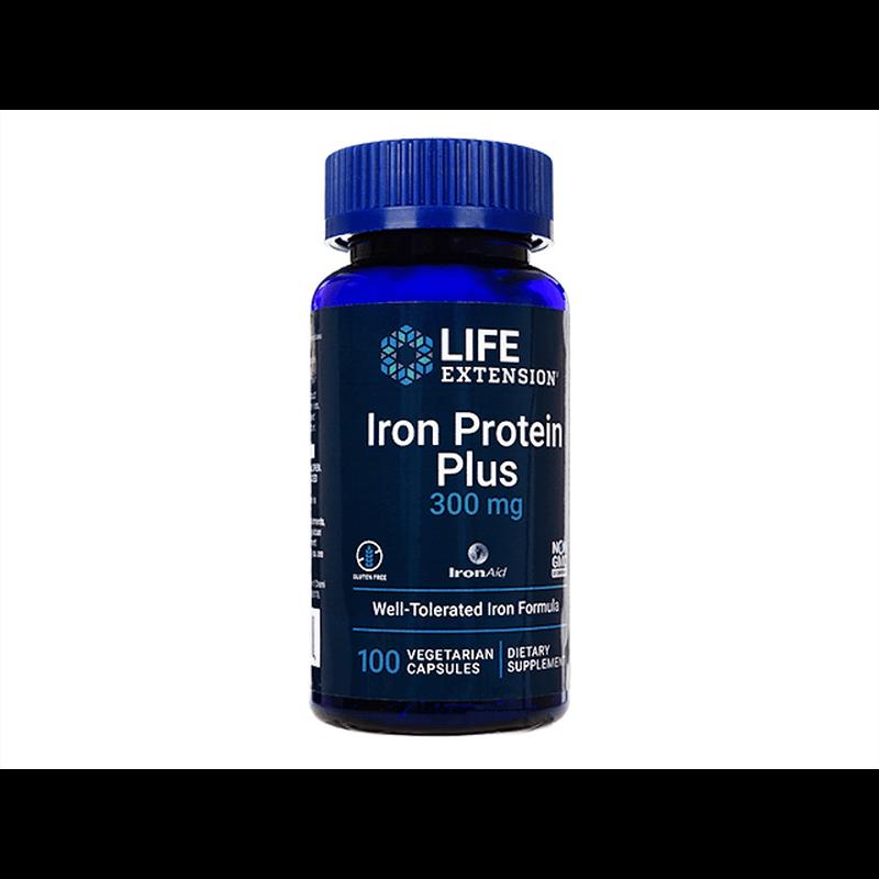 ライフエクステンションアイアンプロテインプラス 1本 / LifeExtension Iron Protein Plus 1 bottle