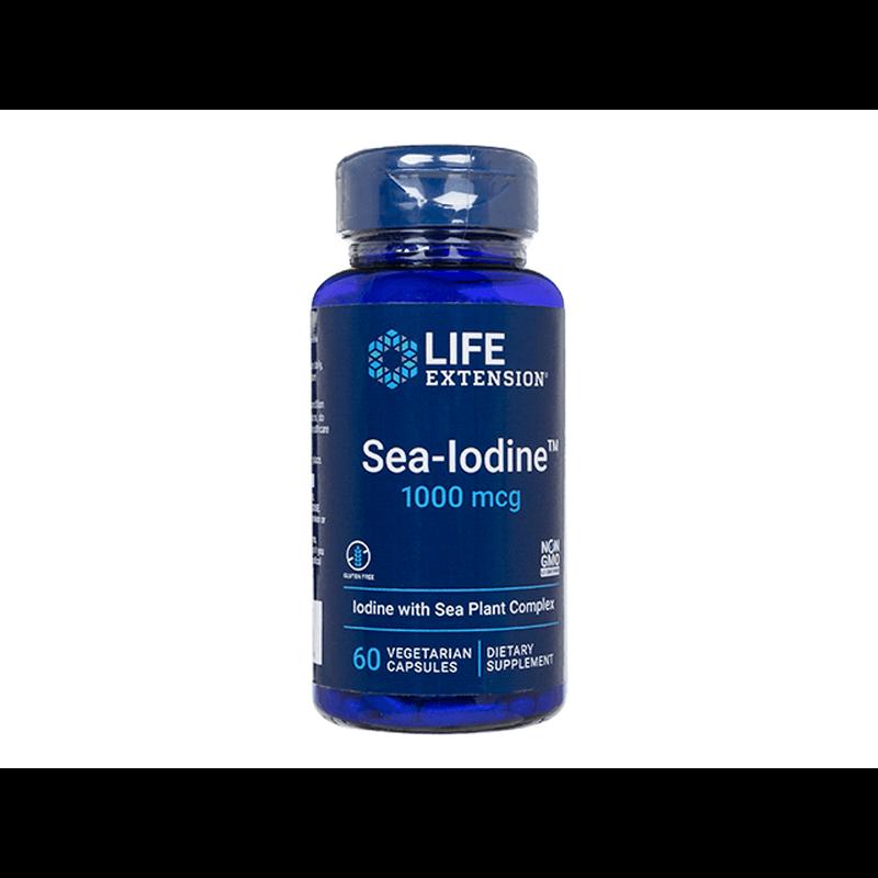ライフエクステンション シーイオダイン 12本 / LifeExtension Sea-Iodine 12 bottles