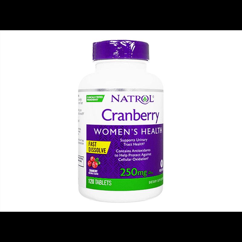 ナトロールクランベリーファストディゾルブ / Natrol Cranberry FastDissolve