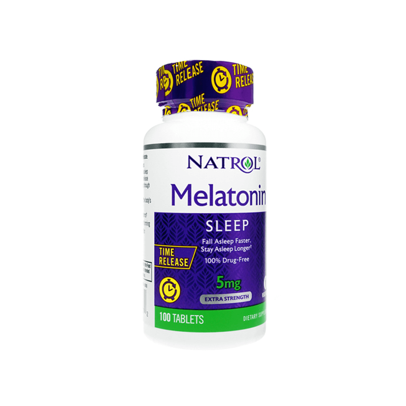 [ナトロール] メラトニンタイムリリース 5mg / [Natrol] Melatonin Time Release 5mg