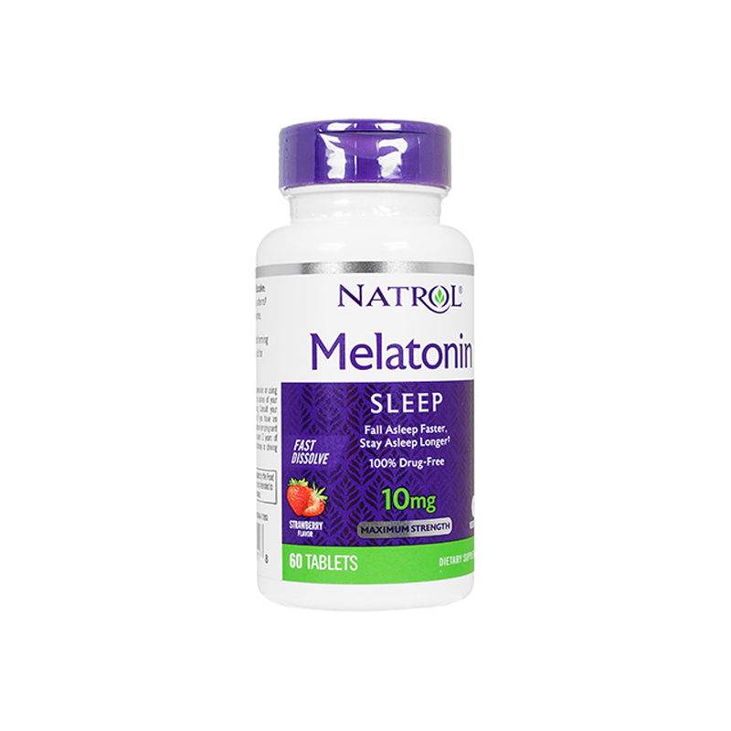 [ナトロール] メラトニン10mgファストディゾルブ / [Natrol] Melatonin 10mg Fast Dissolve
