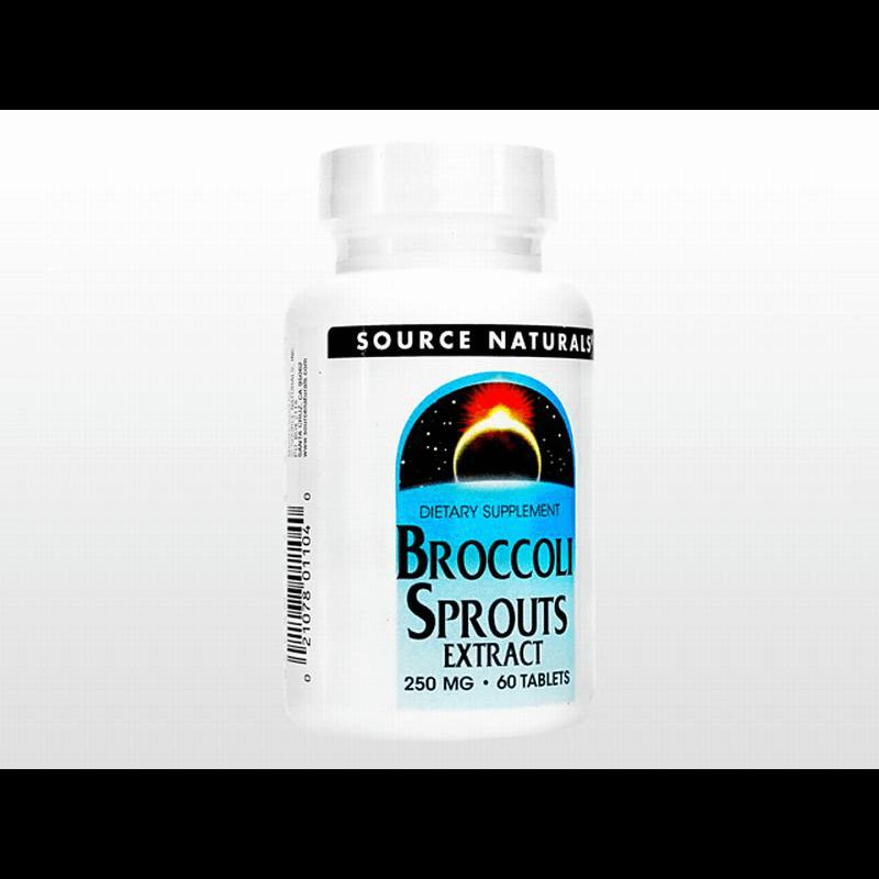 [ソースナチュラルズ] ブロッコリースプラウツ / [Source Naturals] Broccoli Sprouts