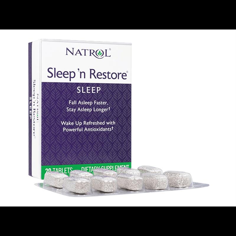 [ナトロール] スリーピンリストア / [Natrol] Sleep'n Restore