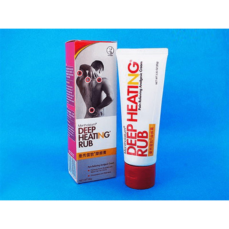 [Mentholatum] ディープヒーティングラブ 95g 3本 / [Mentholatum] Deep Heating Rub 95g 3 tubes