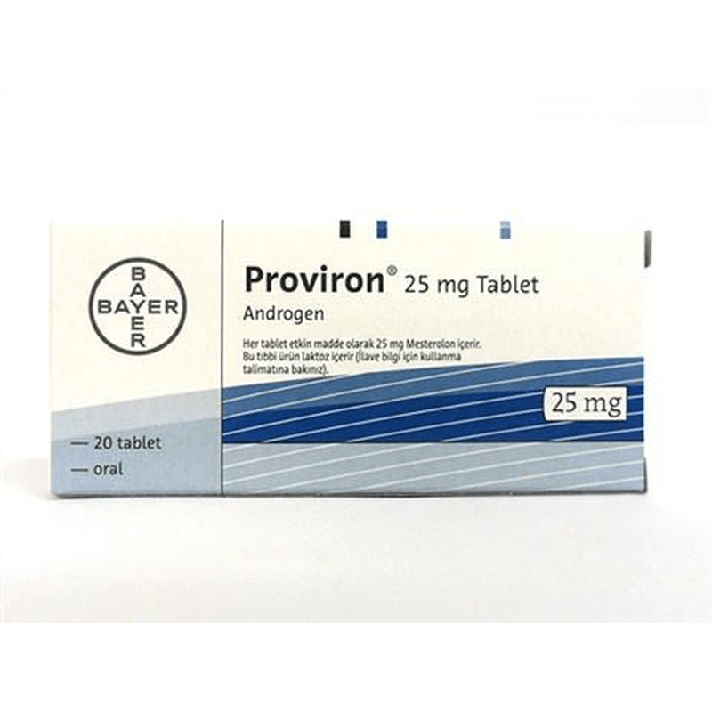 プロビロン 25mg 2箱 / Proviron 25mg 2 boxes