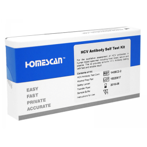 C型肝炎セルフテストキット 1セット / HCV Self Test Kit 1 set