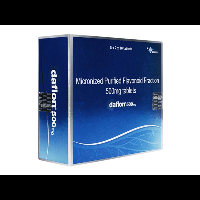 ダフロン 500mg 2箱 / Daflon 500mg 2 boxes