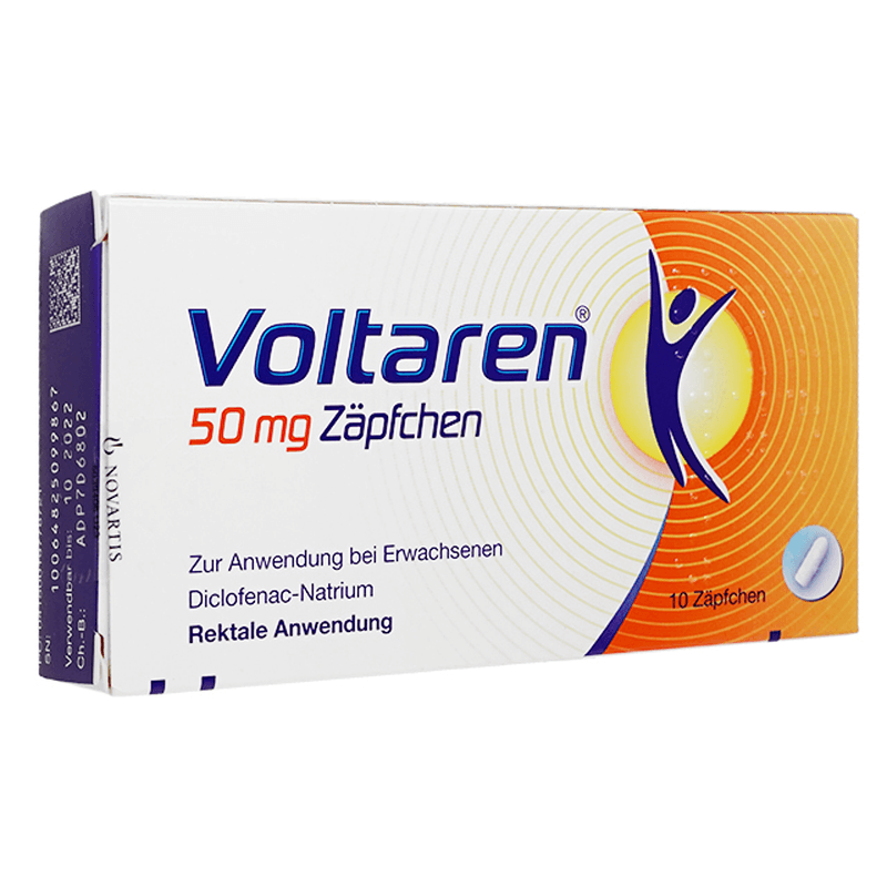 ボルタレン座薬 50mg 2箱 / Voltaren Suppositories 50mg 2 boxes