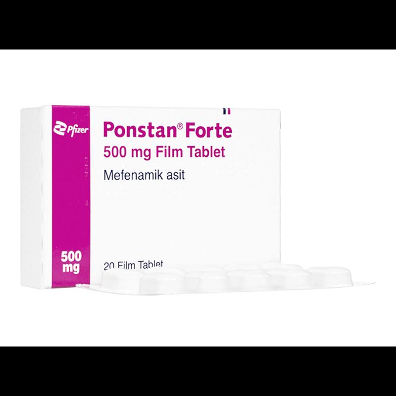 ポンスタンフォルテ 500mg 3箱 / Ponstan Forte 500mg 3 boxes