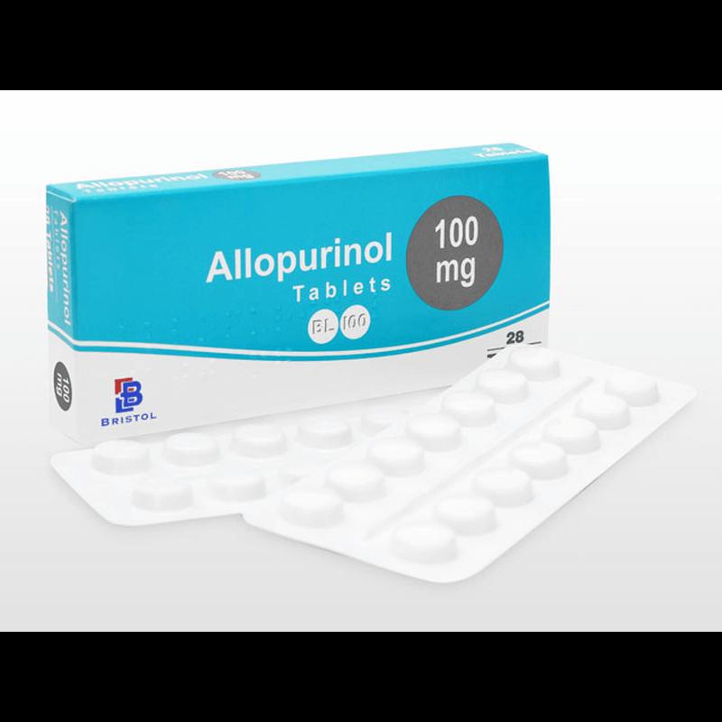 アロプリノール 100mg 1箱 / Allopurinol 100mg 1 box