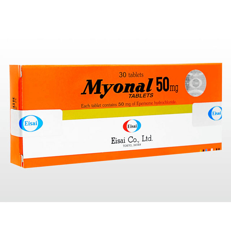 ミオナール 50mg 3箱 / Myonal 50mg 3 boxes