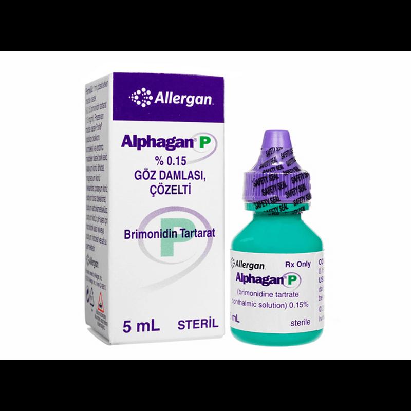 アルファガンP 5ml / Alphagan P 5ml