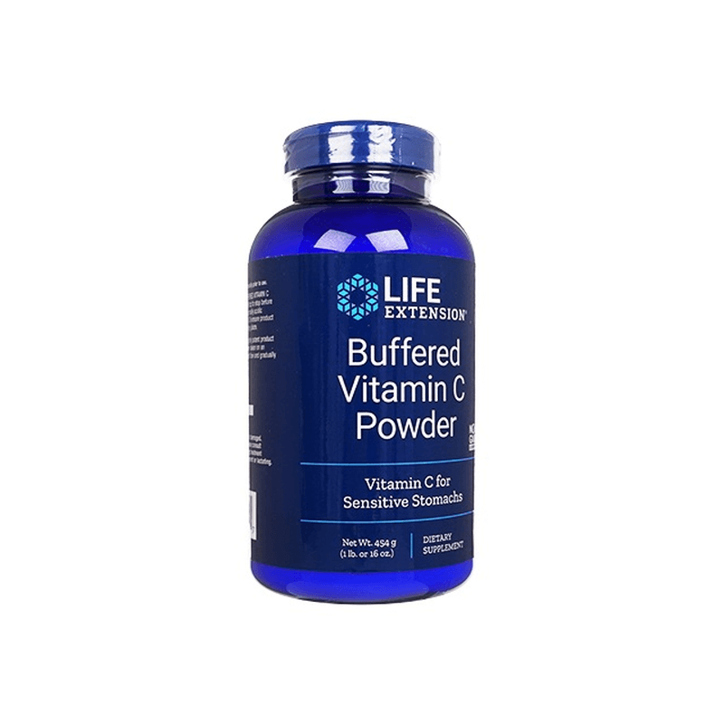 ライフエクステンションバッファードビタミンCパウダー 454g 2本 / LifeExtension Buffered Vitamin C Powder 454g 2 bottles
