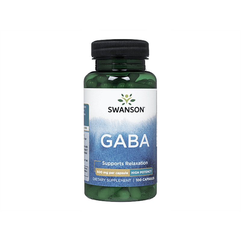 [Swanson] ギャバ 500mg 1本 / [Swanson] GABA 500mg 1 bottle