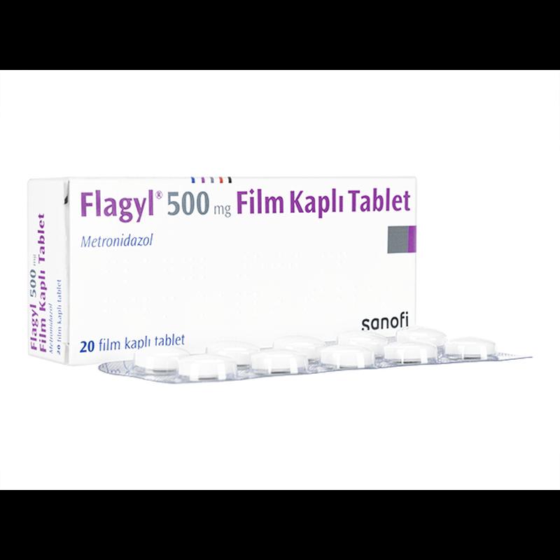 フラジール 500mg / Flagyl 500mg