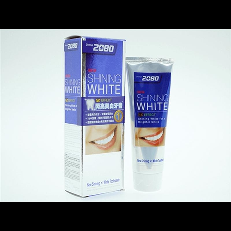 2080歯みがき (New Shining White) 6本 / 2080 Shining White Toothpaste 6 tubes