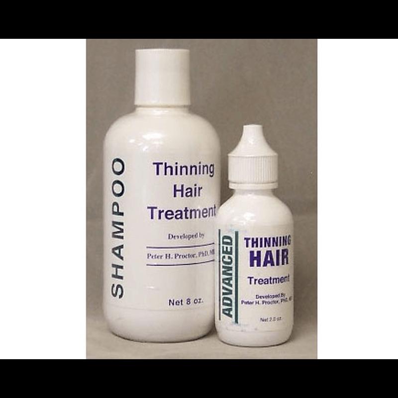 シンニングシャンプー(240ml) & トリートメント(60ml) 各3本セット / Thinning Shampoo(240ml) & Treatment(60ml) each 3 bottles set