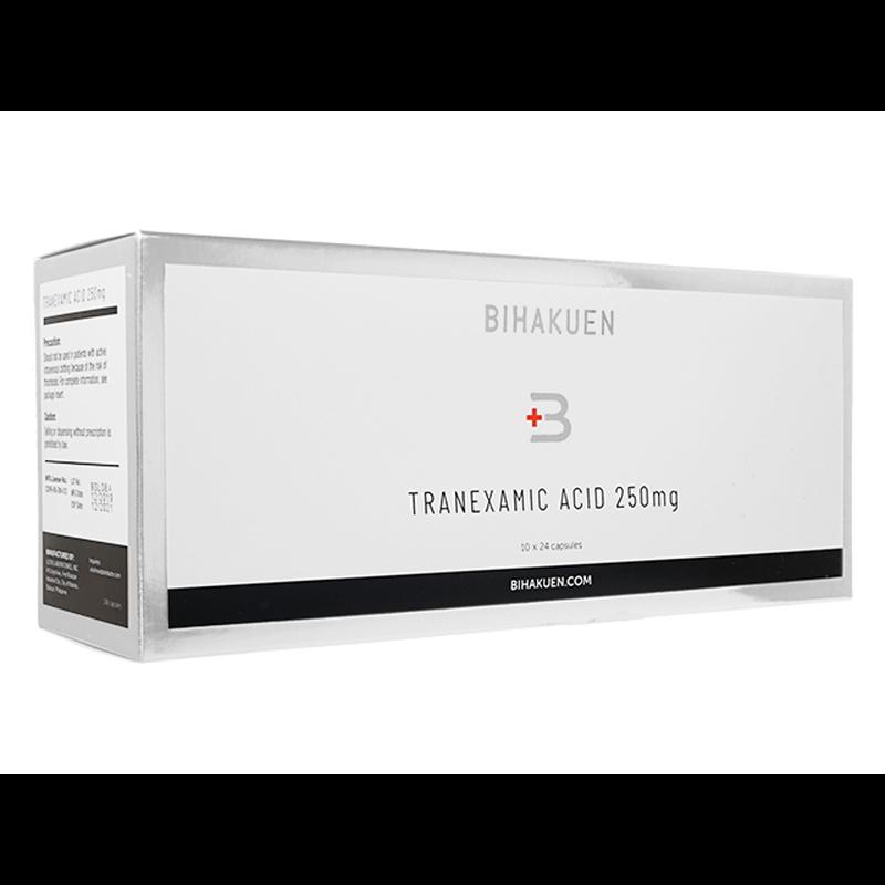 [BIHAKUEN] トラネキサム酸250mg 1箱 / [BIHAKUEN] Tranexamic Acid 250mg 1 box