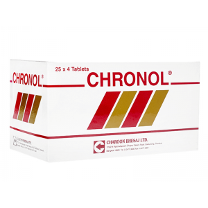 クロノル 1箱 / Chronol 1 box