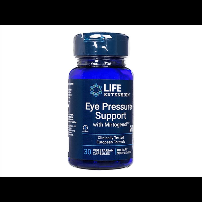 ライフエクステンション アイプレッシャーサポート 2本 / LifeExtension Eye Pressure Support with Mirtogenol 2 bottles