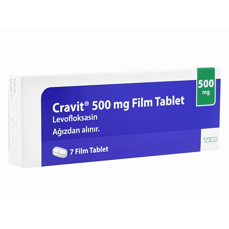 クラビット500mg 6箱 / Cravit 500mg 6 boxes