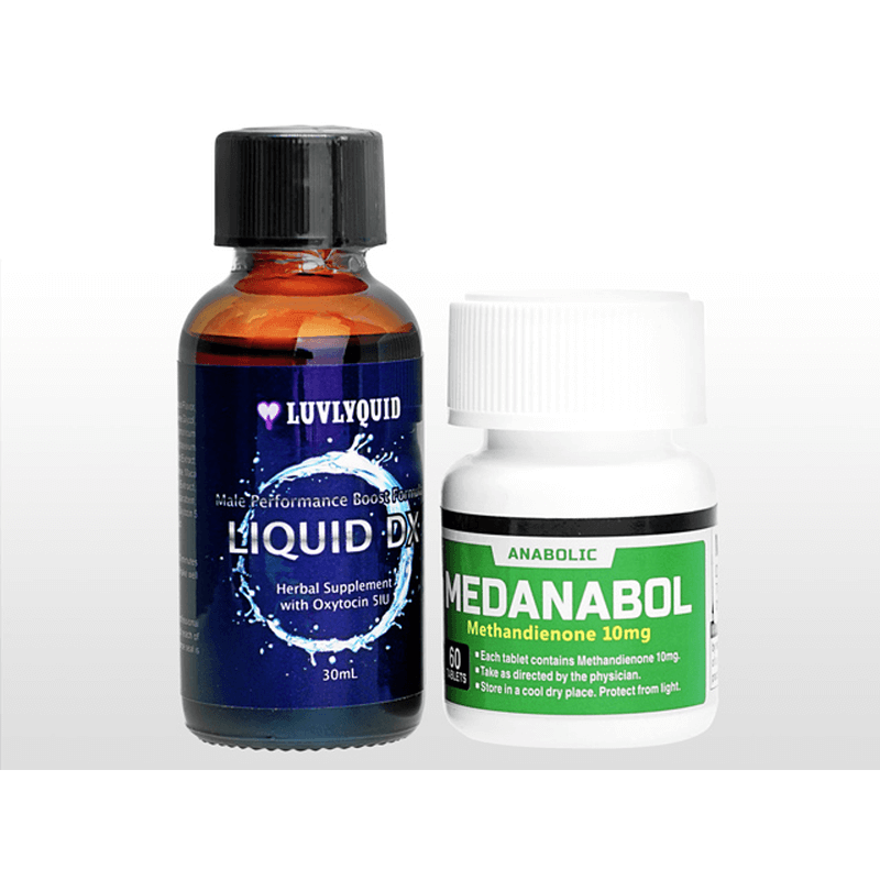 [ラブリーキッド] リキッド・デラックス 30ml + メダナボル 各1本セット / [Luvlyquid] Liquid DX 30ml + Medanabol each 1 bottle set