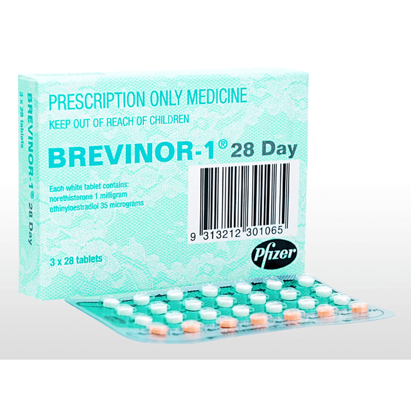 ブレビノール-1 28日 1 箱 / Brevinor-1 28Day 1 box