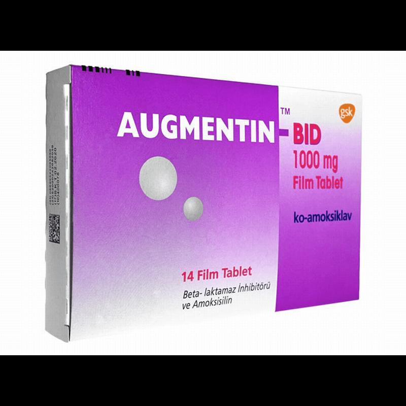 オーグメンチン-BID 1000mg 6箱 / Augmentin-BID 1000mg 6 boxes