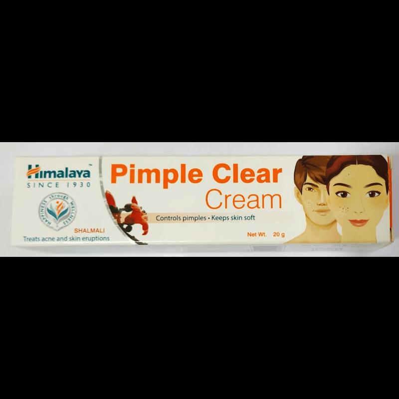 [ヒマラヤ] ピンプルクリアクリーム 20g 5本 / [Himalaya] Pimple Clear Cream 20g 5 tubes