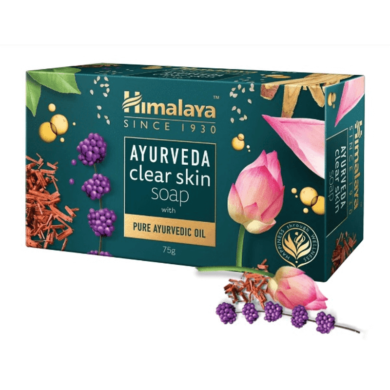 [Himalaya] アーユルヴェーダクリアスキンソープ / [Himalaya] Ayurveda Clear Skin Soap