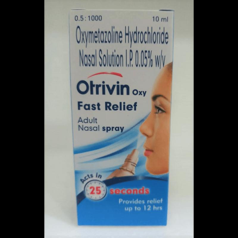 オトリビンオキシーファーストリリーフアダルトナザルスプレー 0.05% / Otrivin Oxy Fast Relief Adult Nasal Spray 0.05%