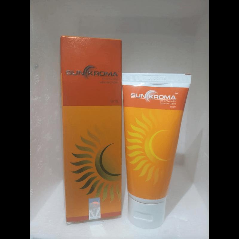 サンクロマサンスクリーンローション50ml 1本 / Sunkroma Sunscreen Lotion 50ml 1 tube