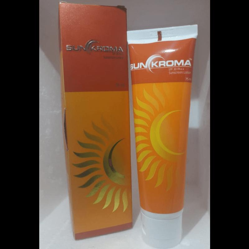 サンクロマサンスクリーンローション75ml 2本 / Sunkroma Sunscreen Lotion 75ml 2 tubes