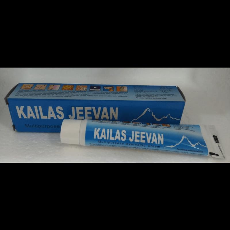 カイラシュジーバンマルチパーパスアーユルヴェーディッククリーム 20g 1本 / Kailas Jeevan Multipurpose Ayurvedic Cream 20g 1 tube