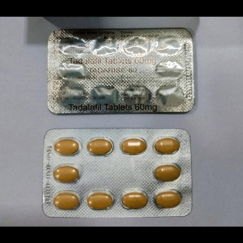 タダライズ 60mg 20錠 / Tadarise 60mg 20 tablets