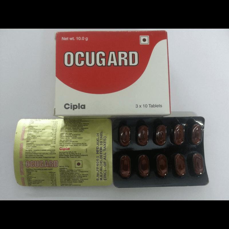 オクガード 1箱(30錠) / Ocugard 1 box (30 tablets)