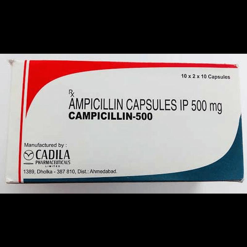カンピシリン 500mg 120カプセル / Campicillin 500mg 120 Capsules