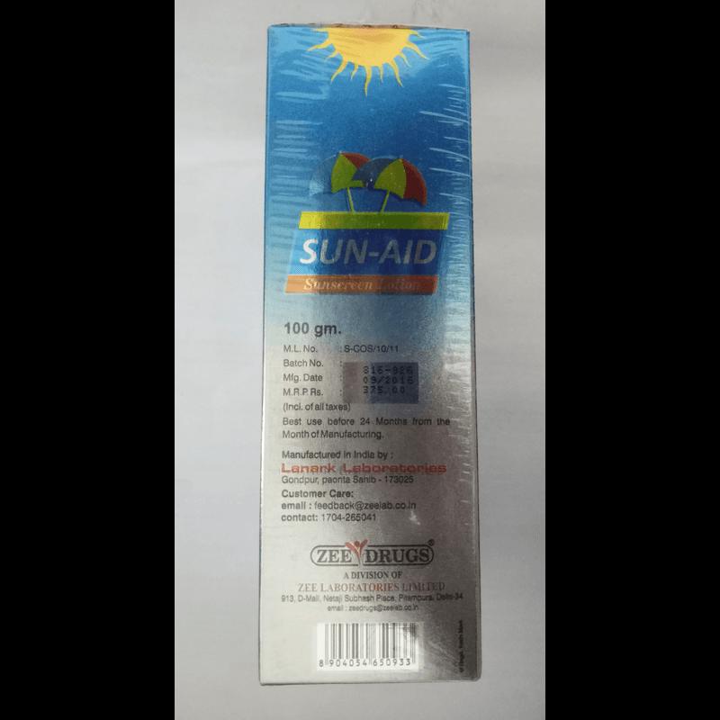 サンエイドサンスクリーンローション SPF75 1本 / Sun Aid Sunscreen Lotion SPF75 1 tube