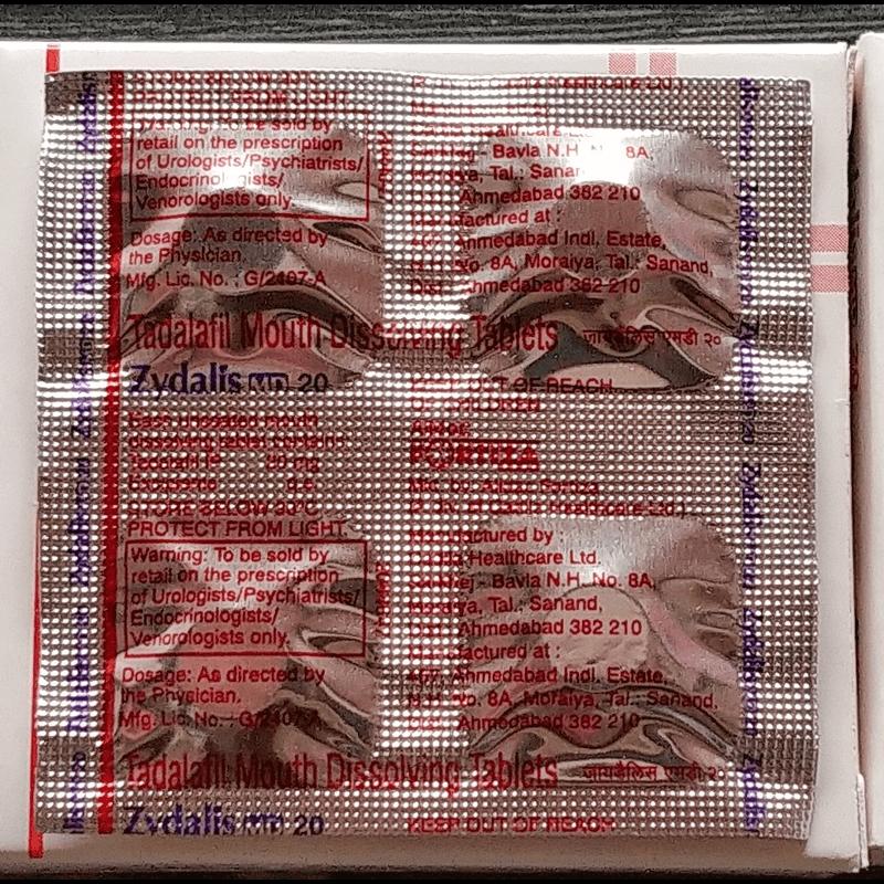 ジダリス 3箱 / Zydalis 3 boxes