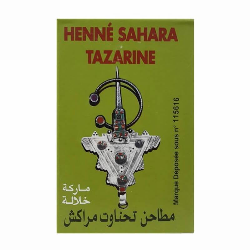 [Achlim] ヘナサハラターザリン (グリーン) 4箱 / [Achlim] Henna Sahara Tazarine (green) 4 boxes