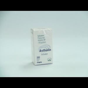 アスタリンインヘーラー 100mcg 1箱 / Asthalin Inhaler 100mcg 1 box