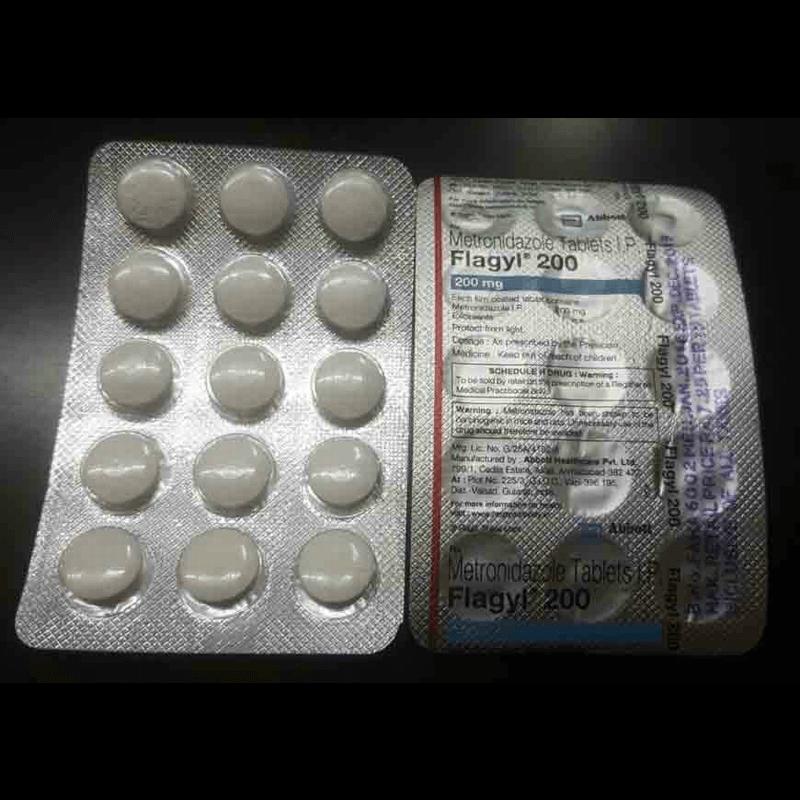 フラジール 200mg 90錠 / Flagyl 200mg 90 tablets