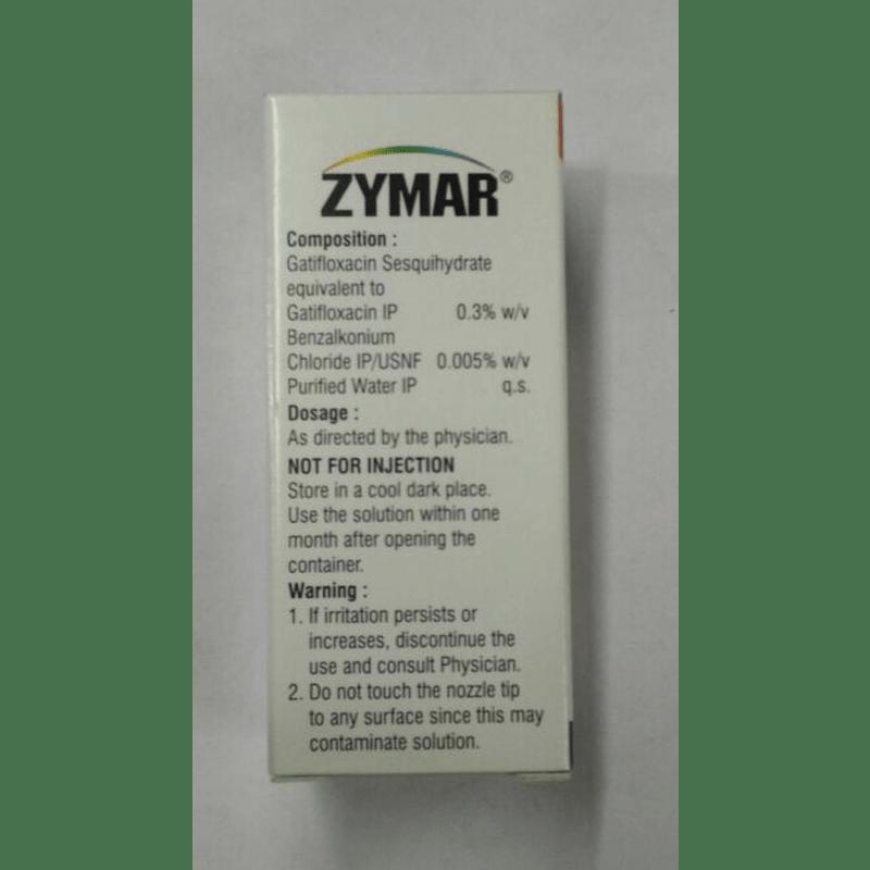 ザイマールアイドロップス 0.3% 5ml / Zymar Eye Drops 0.3% 5ml