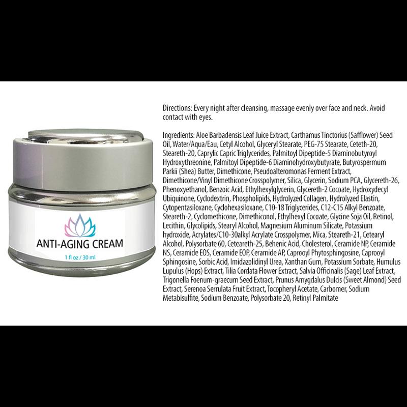 アンチエイジングクリーム / Anti-Aging Cream